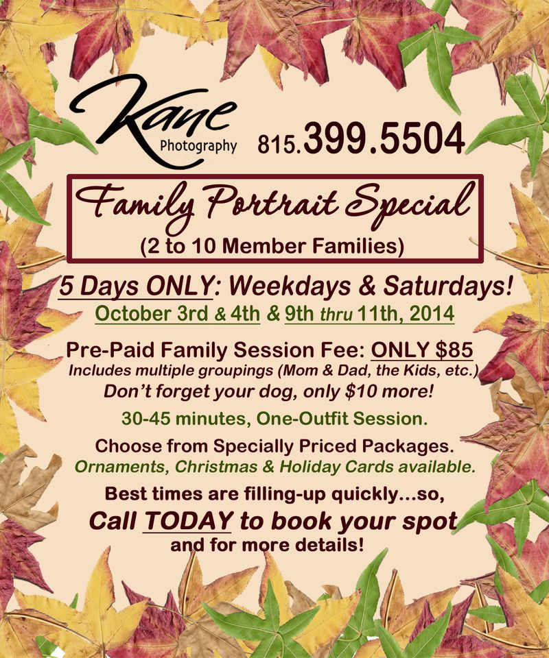 2014 Fall Family Special